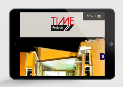 Time Projects Website design
