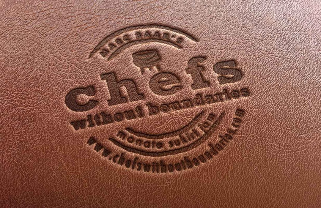 Chefs without boundaries logo design by Twin Zebras