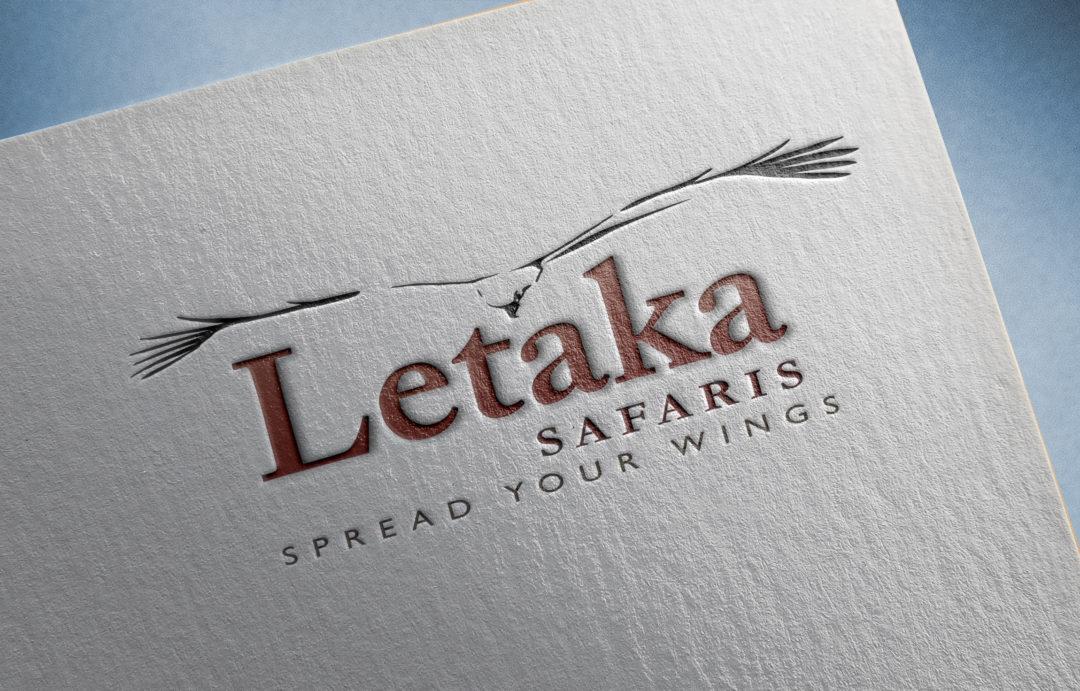 Letaka Safaris logo design and branding by Twin Zebras