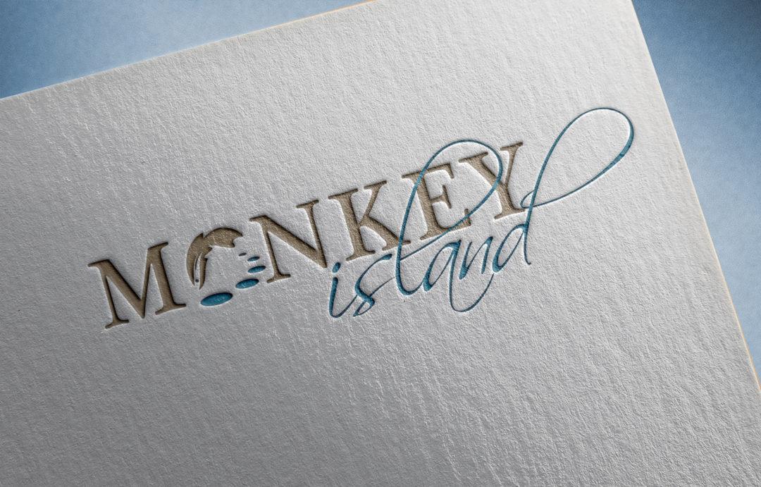 Monkey Island logo design and branding by Twin Zebras